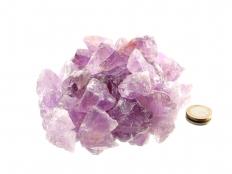 Amethyst Small Rough Stones (1-2 in) - 1 lb