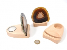 Tealight Holder for Agate Slabs - 1 pc
