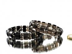 Midnight Lace Obsidian Bracelet 'Fancy'