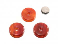 Carnelian Jewelry Donut 40 mm - 1 pc