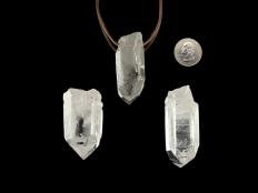 Quartz Crystal Pendant - 1 pc
