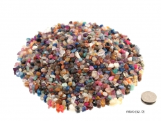 Colorful Tumbled Stones Mix - 1 lb - 6 Sizes available!