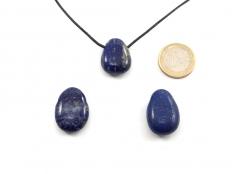 Lapis Lazuli Drop Bead Pendant