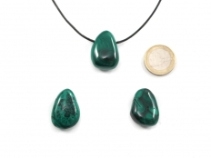 Malachite Drop Bead Pendant
