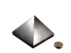 Shungite Pyramid 2 in - 1 pc