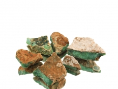Chrysoprase Rough Stones - 1 lb