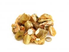 Yellow/Honey Common Opal Rough Stones - 1 lb