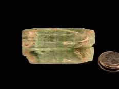 Natural Gem Heliodor (Beryl) Crystal Specimen