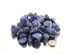 Sodalite Tumbled Stones - 1 lb