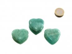 Amazonite Small Heart - 1 pc
