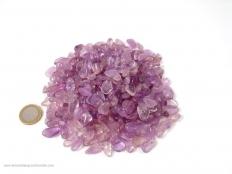 Amethyst Tumbled Stones Mini - 1 lb