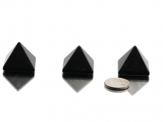 Shungite Pyramid 1 3/16 in - 1 pc