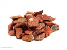 Red Jasper Small Rough Stones - 1 lb