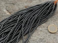 Hematite Bead Strand 3 mm - 1 pc