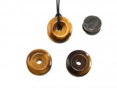 Tiger Eye Jewelry Donut Extra Grade 30 mm - 1 pc