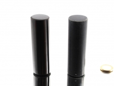 Shungite and Talc-Chloride Cylinders - 1 pair