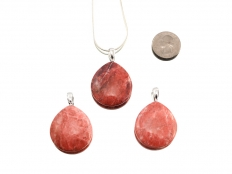 Thulite Pendant Drop - 1 pc