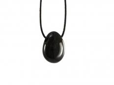 Onyx Drop Bead Pendant