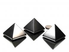 Midnight Lace Obsidian Pyramid - 1 pc