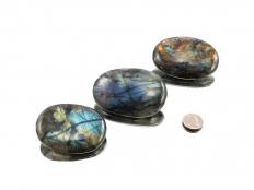 Labradorite Palm Stone - 1 pc