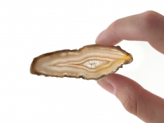 Agate Slices Natural Small - 1 pc