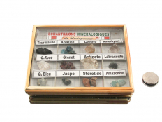 12 Piece Madagascar Mineral Collection Box