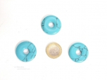 Turquoise (rec.) Jewelry Donut 30 mm - 1 pc