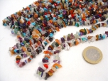 'Disco' - Colorful Mix Chip Bead Necklace