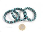 Hematite / Turquoise Bracelet - 1 pc