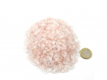Rose Quartz Tumbled Stones Micro - 1 lb