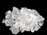 Very Small Quartz Crystals, 1 In, A grade - 1 lb