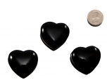 Midnight Lace Obsidian Heart - 1 pc