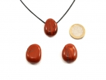 Red Jasper Drop Bead Pendant