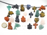 25 Piece Jewelry Bead/Pendant Gemstone Set