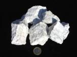 Magnesite (Howlite) Rough Stones - 1 lb