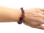 Amethyst Chip Bracelet - 1 pc