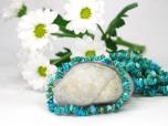 Turquoise Chip Bracelet - 1 pc