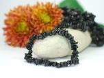 Black Tourmaline Chip Bracelet - 1 pc