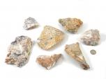 Crazy Lace Agate (Australia) Rough Stones - 1 lb