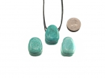 Amazonite Drop Bead Pendant