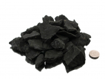 Shungite Small Rough Stones 1-2 in - 1 lb