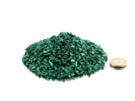 Malachite Tumbled Stones Super Micro - 1 lb