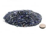 Lapis Lazuli Tumbled Stones Mini, B Grade - 1 lb
