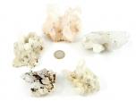 Rock Crystal / Quartz Cluster, B Grade - 1 lb