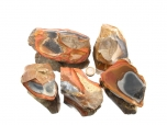 Polychrome Jasper Rough Stones - 1 lb