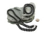 Shungite Bead Necklace - 1 pc