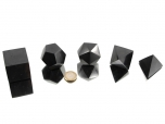 Platonic Solids Set Shungite - 1 set
