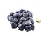 Aventurine Blue / Blue Quartz Tumbled Stones - 1 lb