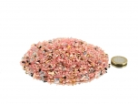 Rhodochrosite Tumbled Stones Micro - 1 lb