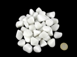 Milk/Snow Quartz Tumbled Stones - 1 lb